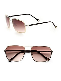 Ermenegildo Zegna - Modified Navigator Sunglasses