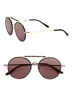 Tom Ford Eyewear - Samuele Round Sunglasses