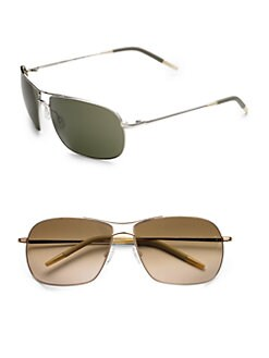 Oliver Peoples - Farrell Aviator Sunglasses