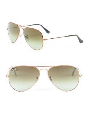 RB302558 Aviator Metal Sunglasses
