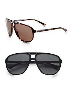 Dolce & Gabbana - Oversized Aviator Sunglasses