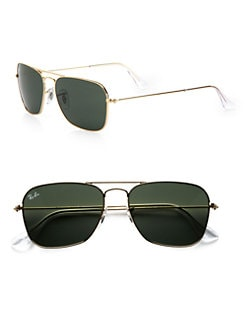 Ray-Ban - Caravan Rectangular Sunglasses