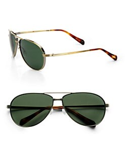 Oliver Peoples - Copter Aviator Sunglasses