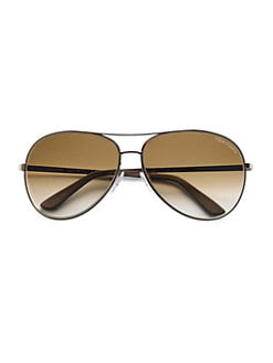 Tom Ford Eyewear - Charles Metal Aviator Sunglasses