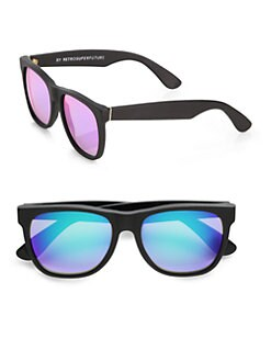 Super by Retrosuperfuture - Oversized Plastic Wayfarer Sunglasses