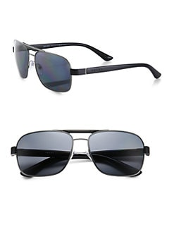 Prada - Triangle Aviator Sunglasses