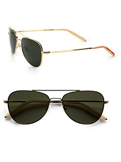 Mosley Tribes - Mateo Aviator Sunglasses