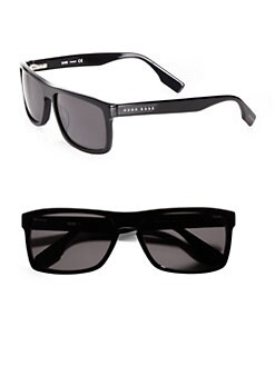 BOSS Black - Square Plastic Sunglasses