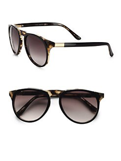 Gucci - Round Preppy Sunglasses
