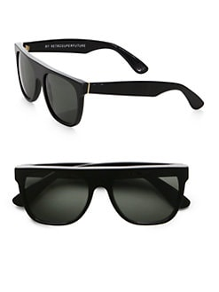 Super by Retrosuperfuture - Flat-Top Plastic Sunglasses