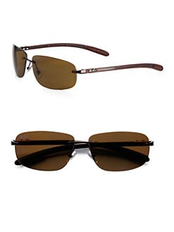 Ray-Ban - Tech Rimless Metal Sunglasses