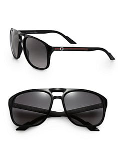 Gucci - Acetate Aviator Sunglasses