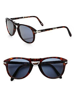 Persol - Vintage Folding Keyhole Steve McQueen Sunglasses