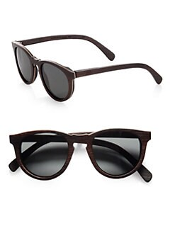 Shwood - Belmont Wood Keyhole Sunglasses