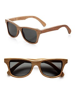 Shwood - Canby Herringbone Wood Sunglasses
