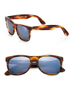 Super by Retrosuperfuture - Basic Tortoise-Print Sunglasses