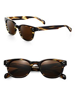 Oliver Peoples - Afton Round Acetate Sunglasses