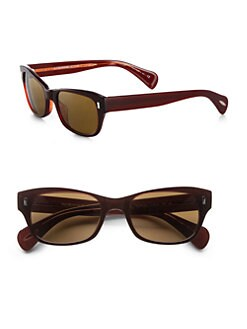 Oliver Peoples - Wacks Plastic Sunglasses