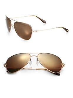 Oliver Peoples - Pryce Aviator Sunglasses