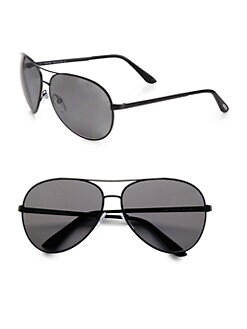 Tom Ford Eyewear - Charles Plastic Aviator Sunglasses