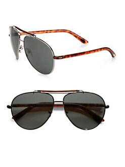 Tom Ford Eyewear - Metal Aviator Sunglasses