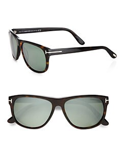 Tom Ford Eyewear - Plastic Wayfarer Sunglasses