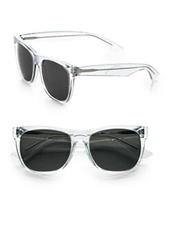 Super by Retrosuperfuture - Translucent Wayfarer Sunglasses