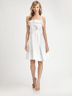 Nina Ricci - Ruffle Detail Dress