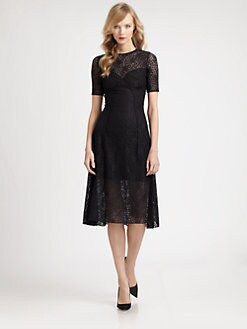 Nina Ricci - Floral Lace Dress