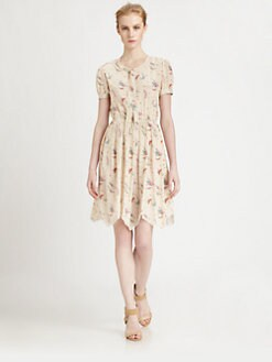 Nina Ricci - Butterfly Print Dress