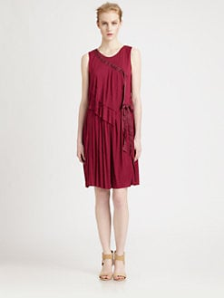 Nina Ricci - Jersey Drape Dress