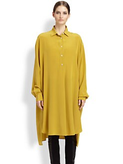 Maison Martin Margiela - Silk Shirtdress