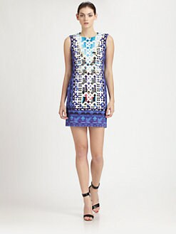 Peter Pilotto - Stamped Jersey Dress