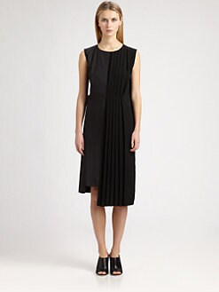 Maison Martin Margiela - Side-Pleat Dress