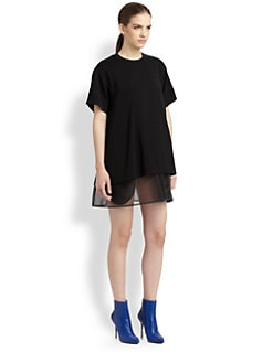 Maison Martin Margiela - Sheer-Hem Dress
