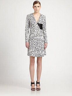 J.W. Anderson - Buckle Wrap Dress
