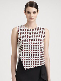 J.W. Anderson - Asymmetrical Button Top