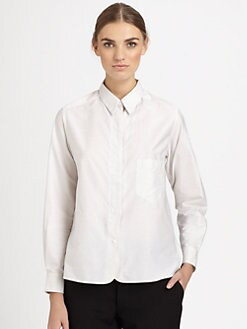 Christophe Lemaire - Detachable Collar Shirt