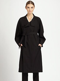 Christophe Lemaire - Wool/Cotton Coat