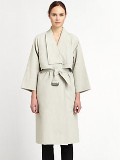 Christophe Lemaire - Wrapover Coat