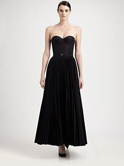 Rochas - Strapless Bustier Gown