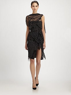 Nina Ricci - Silk Dot Dress