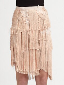 Nina Ricci - Fringe Skirt