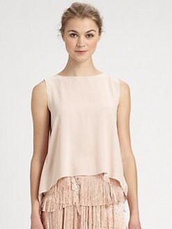 Nina Ricci - Layered Silk Top
