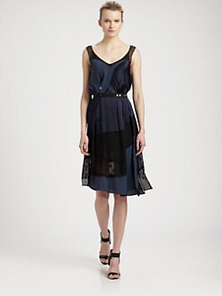 Nina Ricci - Mixed Media Dress