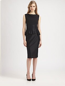 Nina Ricci - Peplum Dress