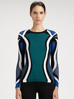 Peter Pilotto - Colorblock Knit Pullover