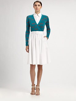 Sophie Theallet - Silk Dragonfly Wrap Top