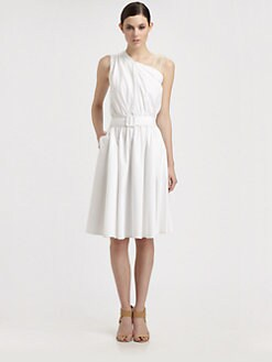 Sophie Theallet - Asymmetrical Belted Dress