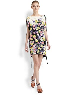 Vionnet - Floral Zipper Tunic Dress